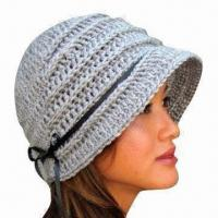 China Hand Crochet Hat for Women, Handmade, OEM Orders are Welcome factory