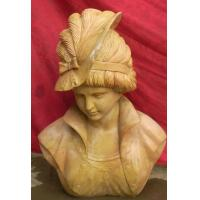 China Lady Marble bust statue factory