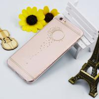 soft protective tpu phone diamond bling flower case for iphone 6s