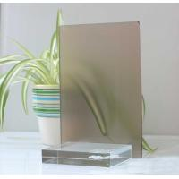 China 10mm 12mm Float Glass Colored Frosted Glass Frameless For Home Decoration factory