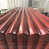 China 0.15-1.2mm prepainted metal single sheet roof panel  with different colors factory