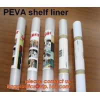 China PEVA SHELF LINER, DRAWER MAT, shower curtain with resin hook set, pattern printed polyester shower curtain bagease pack factory
