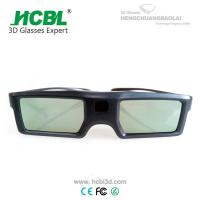 Buy cheap Light Weight TV 3D Active Shutter Glasses For Sign Acceptable By Bluetooth from Wholesalers