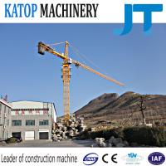Katop QTZ50 TC5008B 4t load tower crane with 1.615x2.5m mast section