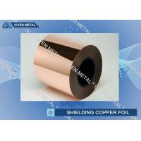 Buy cheap Extraordinary strength Rolled Copper Foil for transformer winding from Wholesalers