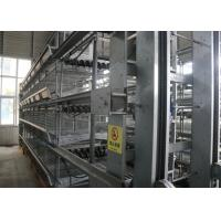 China Industrial Layer Poultry Farming Equipment Silver Cage System In Poultry factory