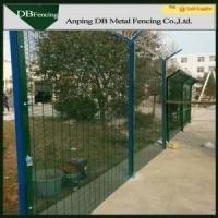 Buy cheap Security Carbon Steel Curved Wire Fence For Airports / Harbor And Living Sites from Wholesalers
