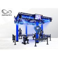 Buy cheap Indoor Park Laser VR Shooting Simulator Arcade Interactive Combat Electronic Game Machine from Wholesalers