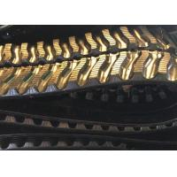 China Anti Slide Continuous Rubber Track For Heavy Machinery Excavator Dumper factory