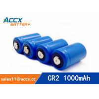 China LiMnO2 CR2 3.0V 1000mAh primary battery with high quality factory