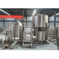 China Efficient 10BBL Beer Fermenting Equipment Brushed Stainless Steel Surface factory