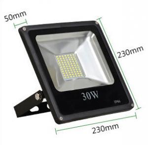 China 30W led reflector led lamp dimmable flood lighting black grey aluminum housing single 110V factory