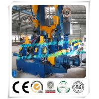 China Light Steel Automatic H Beam Production Line , H Beam Combination Welding Machine factory