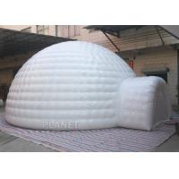 China Giant Inflatable Igloo Tent , White 3.5 M Height Inflatable Outdoor Tent factory