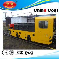 Buy cheap 3.5 Ton electric trolley mine locomotive easy maintenance from Wholesalers