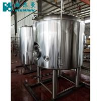 China Vertical Brite Brewing Tank ,500L PLC Control Brewery Stainless Steel 304 Bright Tank factory