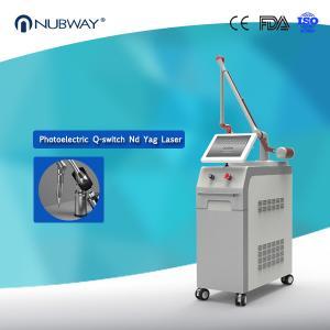 4 Wavelengths 1064nm&532nm&585nm&755nm Tattoo Removal Machine Q switch Nd Yag Laser