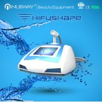 Buy cheap newest tech non invasive therapeutic ultrasound machines portable HIFUSHAPE for sale from Wholesalers