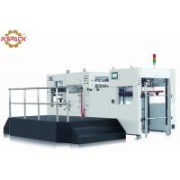 China Full Automatic Die Cutting And Creasing Machine Cardboard Cutting factory