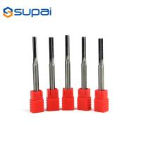 China 2 4 Flute Solid Carbide Reamers With Straight Shank Straight Flute factory