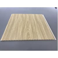 China 12 Inch × 6mm High Strength PVC Garage Ceiling Covering With Golden Lamination factory
