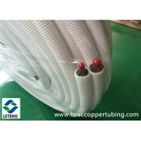 Buy cheap Closed Cell Insulation Plastic Coated Copper Tubing with Heat Preservation Function from Wholesalers