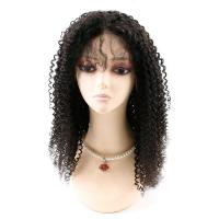 China Kinky Curly Front Lace Wigs , Lace Front Full Wigs Human Hair 8A Grade factory