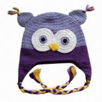 China Hand Crochet Knitted Hat for Children, OEM Orders are Welcome factory