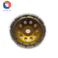 Buy cheap 5 Inch Diamond Cutting Grinding Cup Wheel For Marble Granite Concrete from Wholesalers