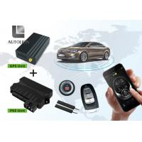 China Smart Remote Start And Keyless Entry System With GPS Fuction , PKE Push Button factory