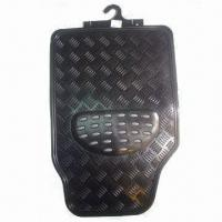 China Car Mat, Made of PVC with NBR, Available in Black and Grey factory
