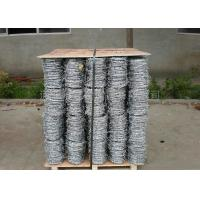Buy cheap 4 Strand Razor Barbed Wire , Blade Barbed Wire Q195 Material For Fence Protective from Wholesalers
