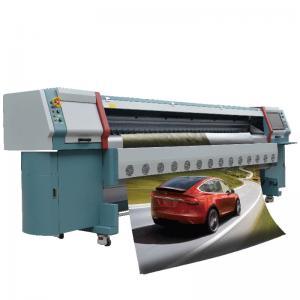 China High Speed Digital Solvent Printer , Konica Solvent Printer Max Printing Width 3.2m factory