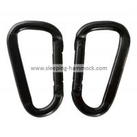 Buy cheap D Shaped Spring Loaded Gate Steel Hammock Hanging Accessories For Camping Travelling from Wholesalers