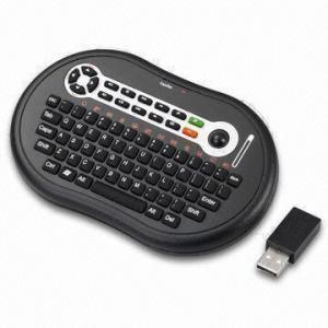 China Wireless Palm Style Keyboard with Trackball and Wireless Technology Range Upto 10m on sale