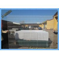 China Green Vinyl Coated Decorative 3D Fence Panels Welded Wire Mesh For Playground on sale