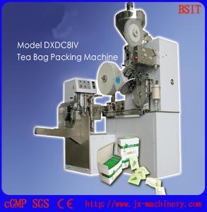 China DXDC8IV Pouches Filter Paper Granule Tea Bag Packaging Machine/Tea Sachet Packaging Machine factory