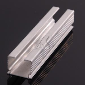 China CQC Furniture Aluminium Profiles Storage Track Durable High Heat Resistance factory