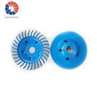 Buy cheap China Limestone Continuous Turbo Diamond Grinding Cup Wheel,diamond cup wheel for concrete from Wholesalers