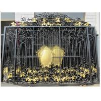 China wrought iron fence panels/used wrought iron fencing on sale