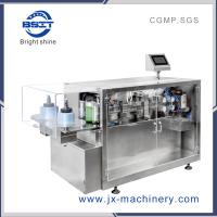 China Automatic herbal medicine plastic ampoule bottle filing and sealing machine factory