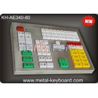 Quality R232 Interface Panel Customization Industrial Metal Keyboard For Transportation Area wholesale
