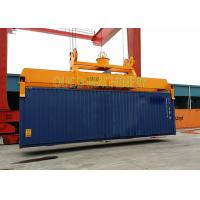 China Custom Color Container Lifting Spreader Bar With Robust Reliable Telescopic System on sale