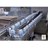 Liquid Pasteurized Milk Processing Line With Pasteurizing Homogenizing And Packing