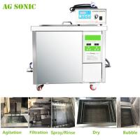 Buy cheap 360L Auto Parts Ultrasonic Cleaner with 28khz Strong Frequency Power Adjustable from Wholesalers