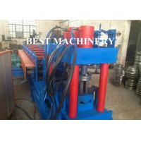Buy cheap Metal Building Palisade Fence Panel Post Roll Forming Machine Protective Guard from Wholesalers