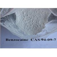 Buy cheap Pain Killer Local Anaesthesia Drugs , Pure Benzocaine Powder Cas 94 09 7 99% Assay from Wholesalers