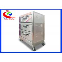 China Commercial Bakery Oven / Bread Oven Electric with 3 layers 6 pans factory