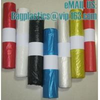 China bin liner, seal bags, c-fold bags, bags on roll, roll bags, produce roll, HDPE sacks factory