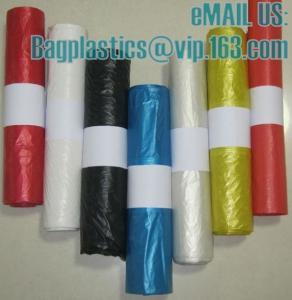 China DRAWTAPE SACKS, nappy bags, nappy sack, diaper bag, alufix, rubbish bag, garbage factory